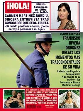 La revista ¡Hola! regala esta semana un DVD de la alternativa de Cayetano Rivera Ordóñez