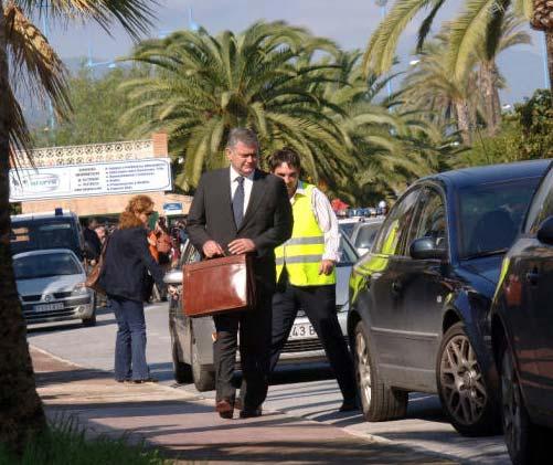 Mayte Zaldívar detenida por un presunto delito de blanqueo de dinero