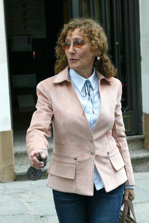 Paloma Rocasolano regresó anoche a la casa de su hija Erika