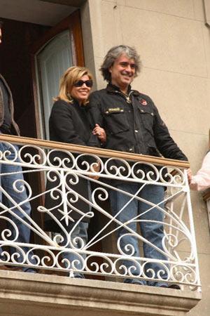 Terelu Campos, ingresada por una neumonía en Sevilla