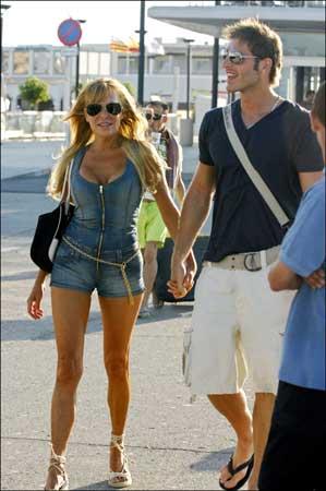 Ana Obregón y Darek, dos enamorados bajo el sol de Formentera