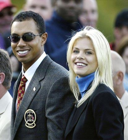 Elin, la bella esposa, de Tiger Woods da a luz a su primer hijo