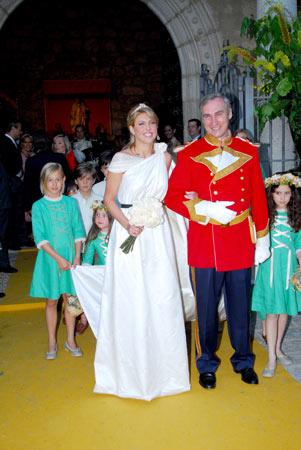Mar Flores asistió a la boda de Patricia Olmedilla y Gonzalo de la Cierva