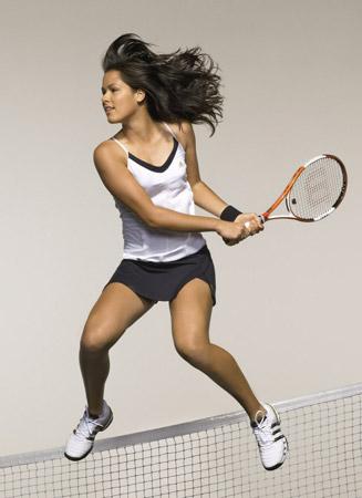 Ana Ivanovic, la nueva sensación de las pistas de tenis