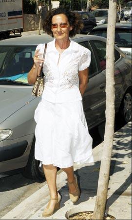 Paloma Rocasolano: 'El bautizo fue muy bonito. Leonor estaba muy contenta'