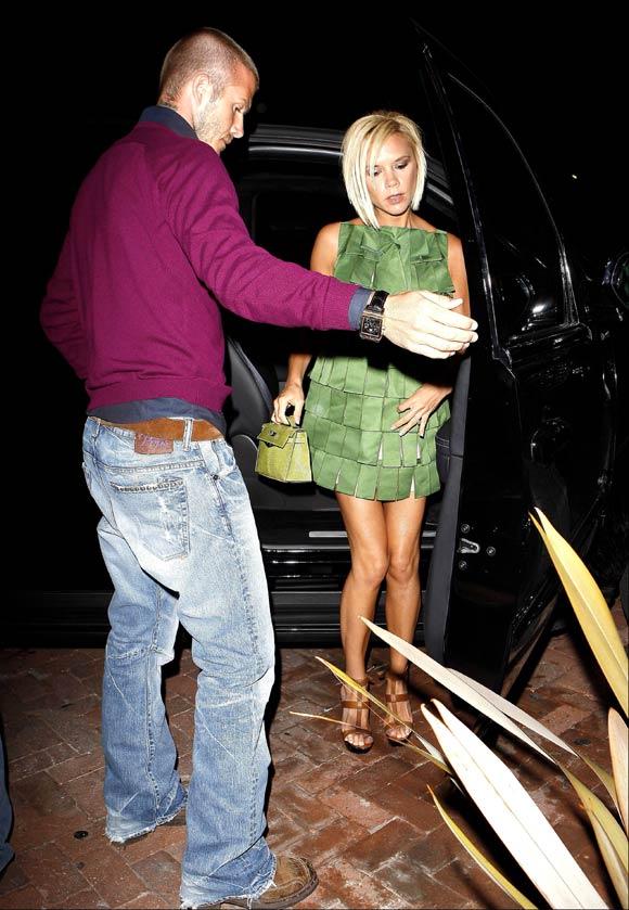 Victoria Beckham y su vestido sólo para muy atrevidas...
