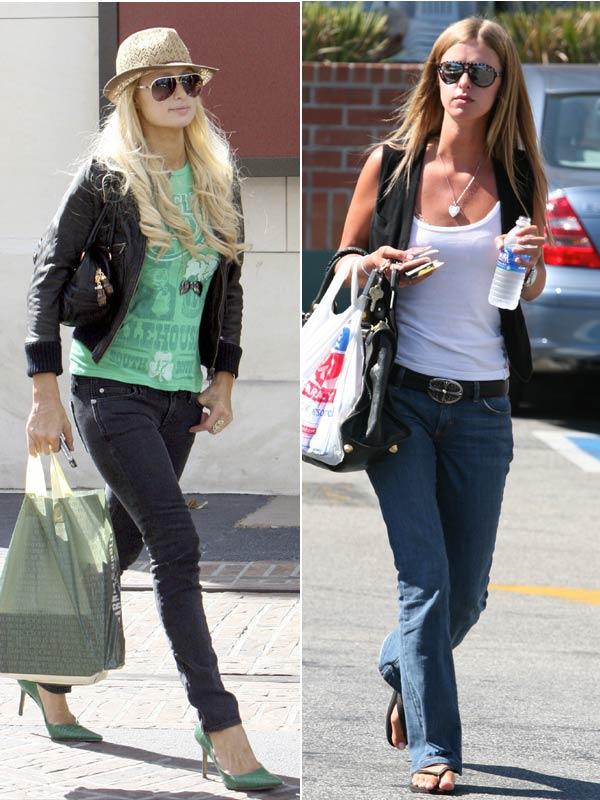 Paris y Nicky Hilton, dos hermanas cada día más opuestas