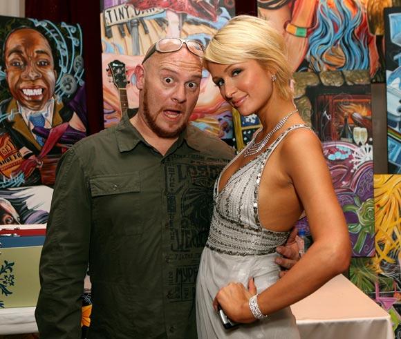 André Agassi y Steffi Graf celebran el 12º Grand Slam humanitario con Paris Hilton como invitada estrella
