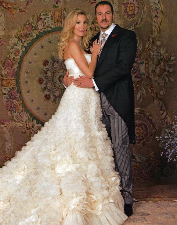 Borja Thyssen se reencuentra con su madre pocos días después de su boda