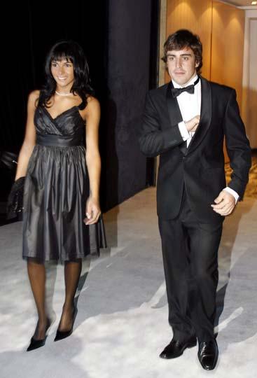 Fernando Alonso: 'Cuando conocí a Raquel estaba muy nervioso. Creo que era porque me gustaba'