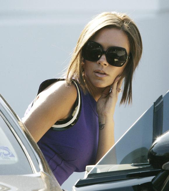 Victoria Beckham vuelve a ser morena