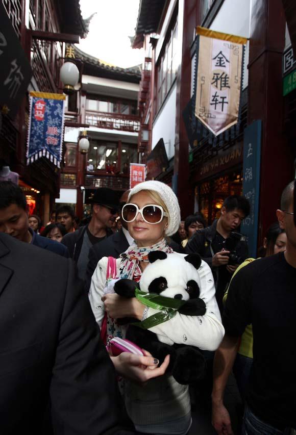 Paris Hilton, invitada de honor en la gala MTV Style de Shanghai