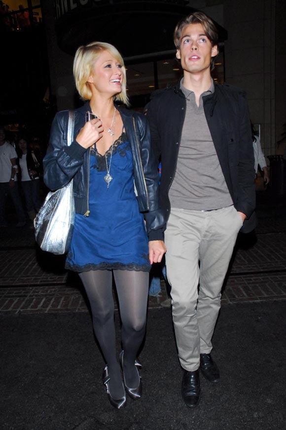 Paris Hilton, cena familiar con sus padres y su novio en Los Ángeles
