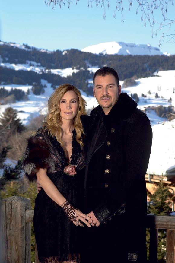 Exclusiva: Borja Thyssen y Blanca Cuesta, vacaciones en los Alpes franceses