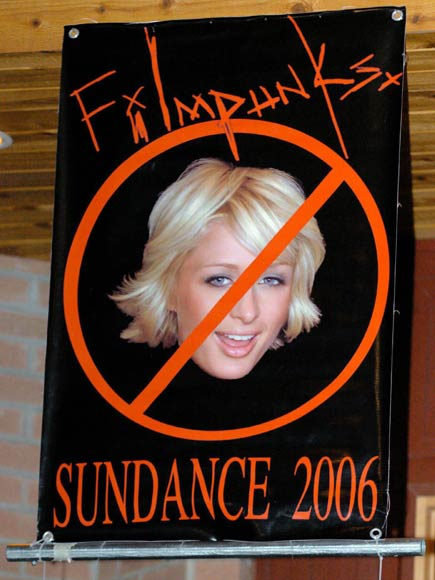 Paris Hilton se venga de Sundance