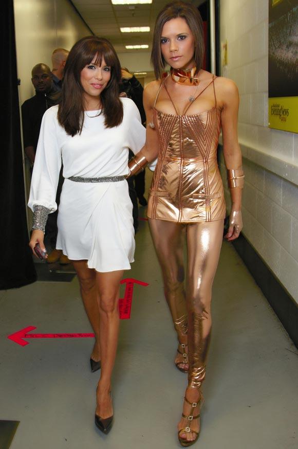 Victoria Beckham descubre los secretos de las Spice Girls a su amiga Eva Longoria