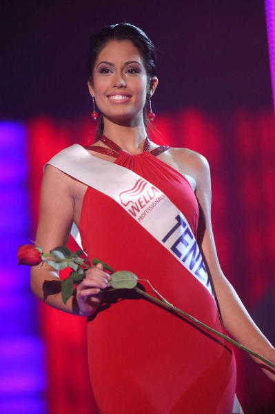 Las mejores fotografías de Patricia Yurena Rodríguez durante el certamen de Miss España 2008