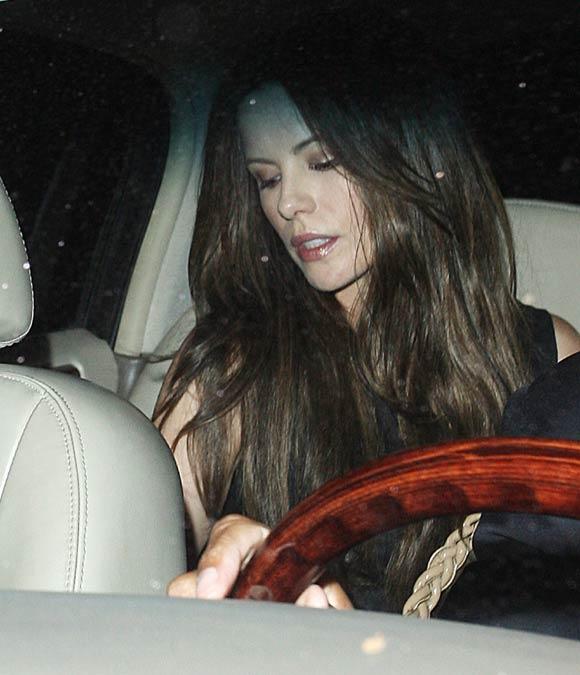 Victoria Beckham, Eva Longoria y Kate Beckinsale y su noche sólo para chicas