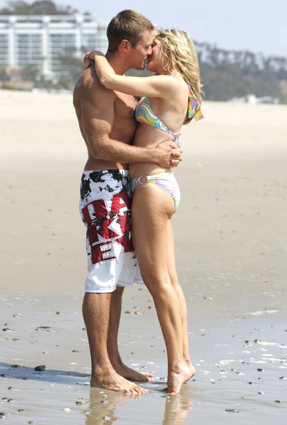 Marla Maples, ex mujer de Donald Trump, posa con su novio ...