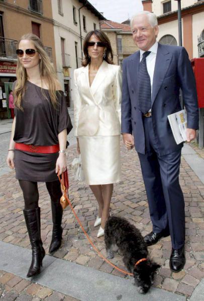 El abuelo paterno de Carla Bruni se casa a los 88 años