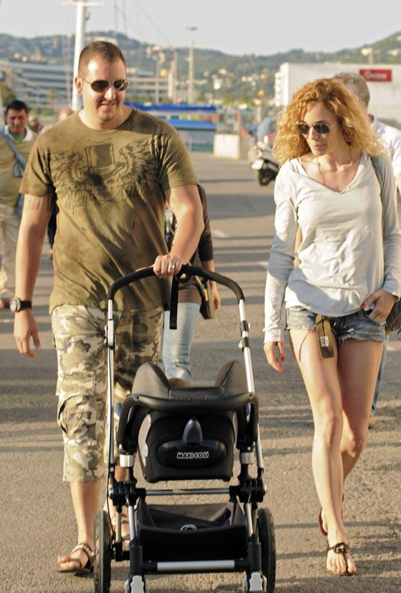 Las vacaciones familiares de Carmen Thyssen con su hijo Borja y Blanca en Ibiza