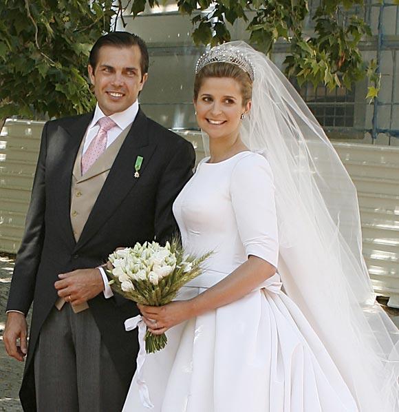 La Romántica Boda De Carlos Felipe De Orleans Y Diana Alvares
