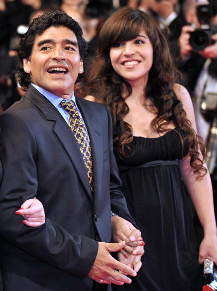 Giannina, hija de Maradona, y el futbolista El Kun Agüero esperan su primer hijo