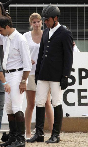 Athina Onassis y Álvaro de Miranda, dos apasionados por la hípica en los Juegos Olímpicos de Pekín