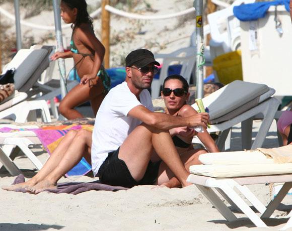 Zinedine Zidane, todo un 'padrazo', de vacaciones en Formentera
