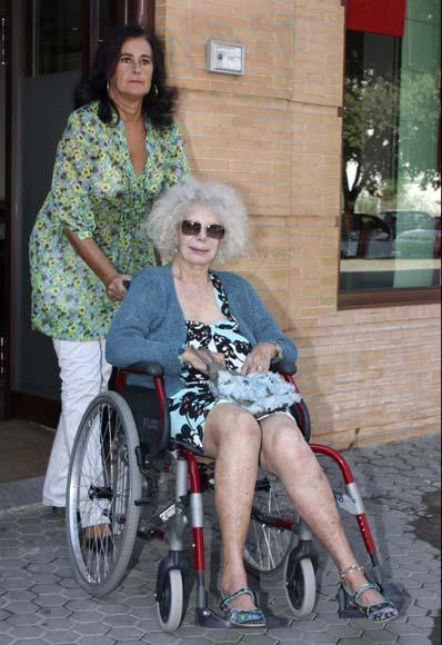 La Duquesa de Alba no descarta todavía casarse con Alfonso Díez: 'Hay tiempo'