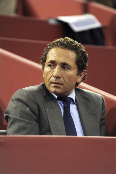 La infanta Elena, David Bustamante, Paula Echevarría, Raúl... los apasionados del tenis se dan cita en Madrid