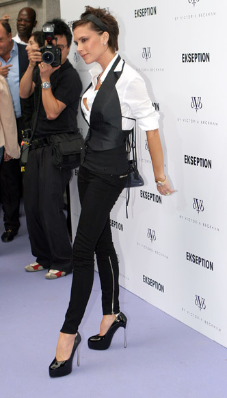 Victoria Beckham de nuevo en Madrid aunque sólo por unas horas