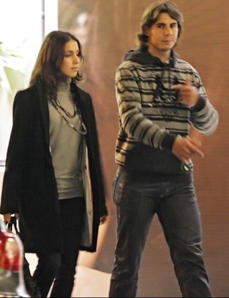 Rafa Nadal y su novia Xisca, de Oviedo a París