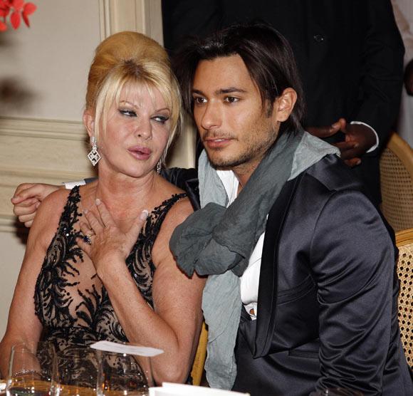 Ivana Trump supera su separación de Rossano Rubicondi con un modelo francés de 23 años