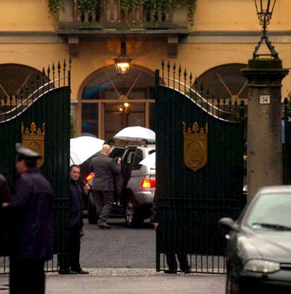 Marina, hija mayor de Silvio Berlusconi, se ha casado a las afueras de Milán