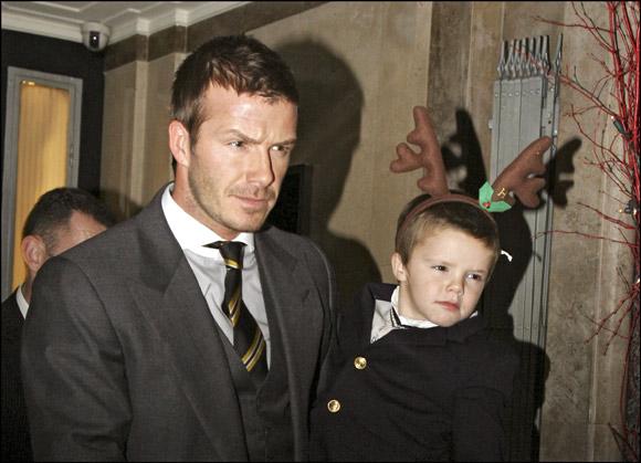 Los hijos de los Beckham, tan elegantes o más que sus famosos padres por Navidad