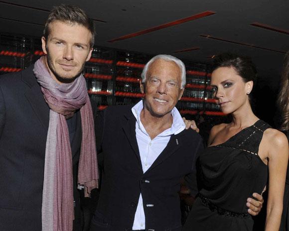 Los Beckham blindan su mansión de Inglaterra y contratan a dos empleados con sus mismos nombres