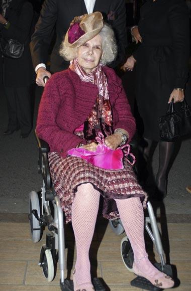 La Duquesa de Alba ingresa en un hospital sevillano para realizarse unas pruebas médicas