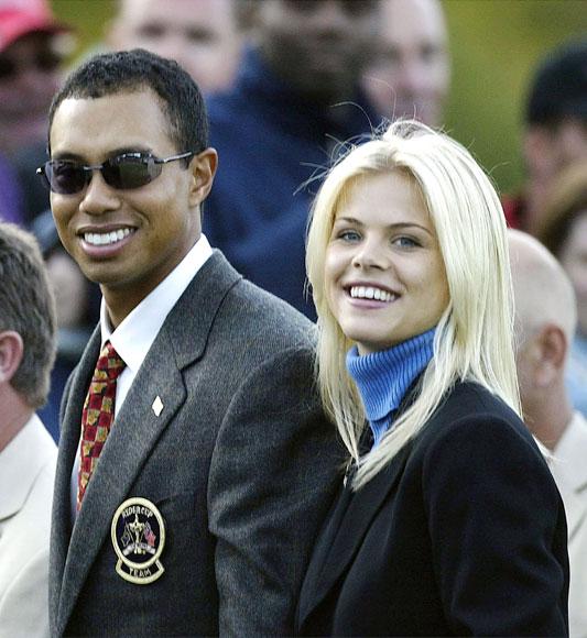 Tiger Woods y su esposa, Elin Nordegren, han sido padres de un niño