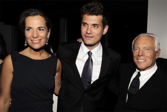 Cayetano Rivera, en la inauguración de la nueva tienda Armani en Nueva York
