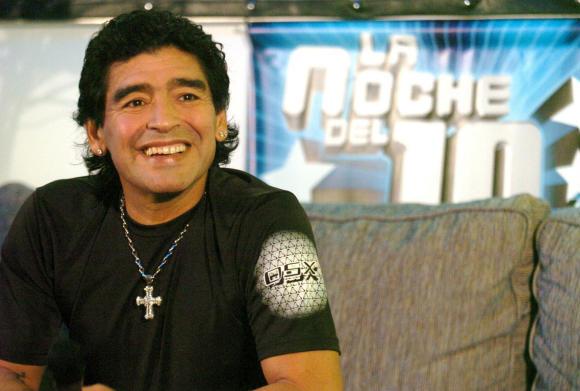 Maradona habla por primera vez de su nieto: 'Cuando vi a Benjamín me entró un aire de juventud muy grande'