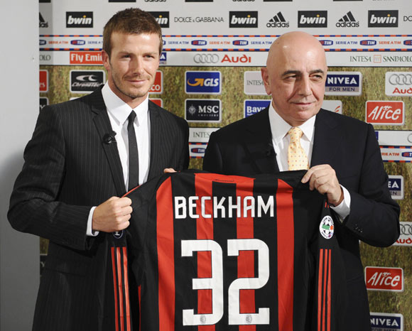 David Beckham cumplirá su 'sueño italiano' hasta junio