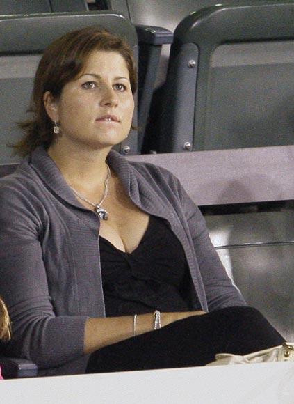 A Mirka, la novia de Federer, ya se le nota el embarazo
