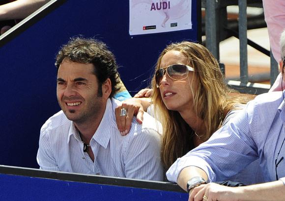 Gemma Mengual se deshace en besos con su novio, Ricard