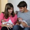 Roger Federer presenta a sus gemelas, Myla Rose y Charlene Riva