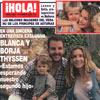 En una sincera entrevista exclusiva, Blanca y Borja Thyssen: 'Estamos esperando nuestro segundo hijo'