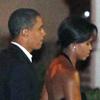 Cena romántica para el matrimonio Obama en su 17º aniversario de boda