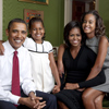 Primer retrato oficial de la familia Obama