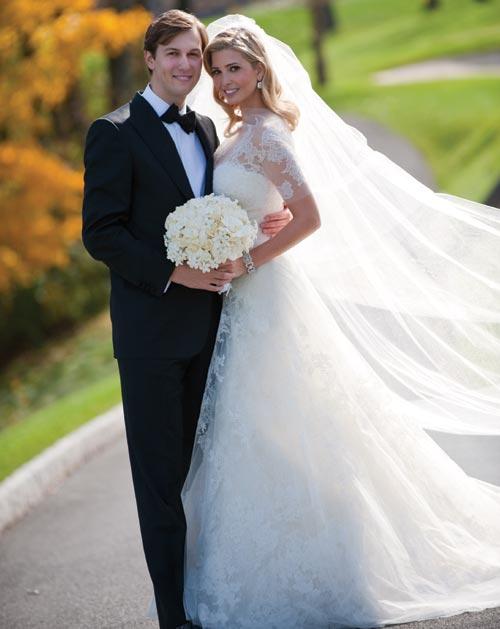 las primeras fotografías de la boda de ivanka trump y jared kushner