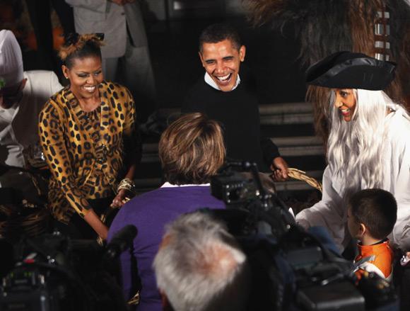 De los Obama a Heidi Klum: las mejores fiestas de Halloween